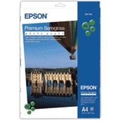 Image of EPSON CARTA FOTOGRAFICA SEMILUCIDA PREMIUM A4 20FG