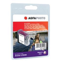 Image of ORIGINAL Agfa Photo Cartuccia d'inchiostro magenta APB900MD Agfa Photo ~400 Seiten 18ml Agfa Photo LC-900m