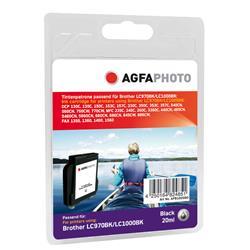 Image of ORIGINAL Agfa Photo Cartuccia d'inchiostro nero APB1000BD Agfa Photo ~648 Seiten 21ml Agfa Photo LC-1000bk / LC-1000hybk