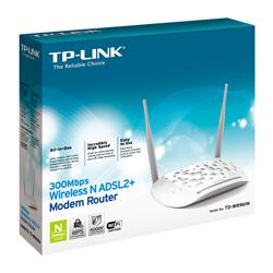 Image of TP-LINK 300MBPS WIRELESS N ADSL2+ MODEM ROUTER
