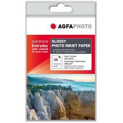 Image of ORIGINAL Agfa Photo Carta Bianco AP18020A6 Carta da foto, DIN A6, 180 g/m², 20 fogli, rivestita, patinata