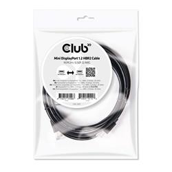 Image of CLUB3D MINI DISPLAYPORT 1.2 2M 4K 60HZ
