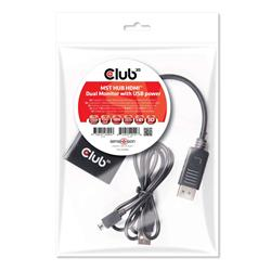 Image of CLUB3D MST HUB 1X DP - 2X HDMI