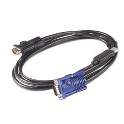 Image of APC CAVO USB E VIDEO PER KVM 1.8MT