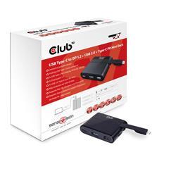 Image of CLUB3D MINI USB 3.0 TYPE C DOCKING STATION