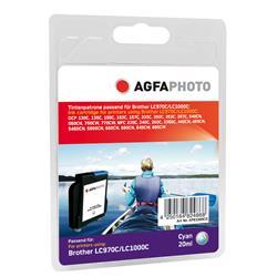 Image of ORIGINAL Agfa Photo Cartuccia d'inchiostro ciano APB1000CD Agfa Photo ~1596 Seiten 11ml Agfa Photo LC-1000c