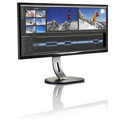 Image of PHILIPS 34 LCD RETR LED ULTRAWIDE MULTIVIEW 21 9 3440X1440