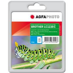 Image of ORIGINAL Agfa Photo Cartuccia d'inchiostro ciano APB1220CD ~300 Seiten Agfa Photo LC1220C