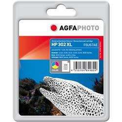 Image of ORIGINAL Agfa Photo Cartuccia d'inchiostro differenti colori APHP302XLC ~330 Seiten