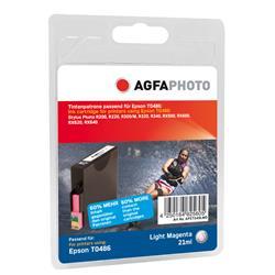 Image of ORIGINAL Agfa Photo Cartuccia d'inchiostro magenta chiara APET048LMD Agfa Photo ~430 Seiten 14ml Agfa Photo T0486 (C13T04864010)