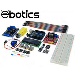 Image of EBOTICS BUILD & CODE PLUS ELECTRONIC AND PROGRAMMING EXTENDED KIT