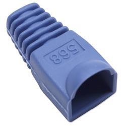 Image of · Copriconnettore per Plug RJ45· Utilizzabile per Plug UTP e STP· Materiale: plastica· Colore: blu