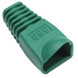 Image of · Copriconnettore per Plug RJ45· Utilizzabile per Plug UTP e STP· Materiale: plastica· Colore: verde