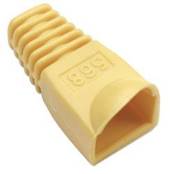 Image of · Copriconnettore per Plug RJ45· Utilizzabile per Plug UTP e STP· Materiale: plastica· Colore: giallo
