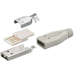 Image of · Connettore USB a Saldare · Incluso isolante in plastica· Versione Connettore A Maschio