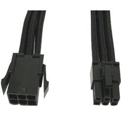 Image of · Prolunga di alimentazione interna a 6 pin (PCI-E)· Sleeving in tessuto di eccelsa qualità· Rivestimento High-End UV· L elegante design del cavo personalizza il pcCaratteristiche tecniche· AWG cavo: 18· Co