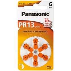 Image of · Batterie a bottone per le più diffuse protesi acustiche· In blister da 6 pezzi· In pratica confezione che permette l estrazione della singola batteria mantenendo inalterato il blisterCaratteristiche· Voltaggio: 1,4V&mi