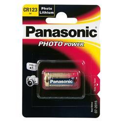 Image of · Batteria CR123A· Tecnologia: Litio· Capacità 1550 mAh· Adatta a macchine fotografiche· Alte prestazioni e lunga durataCompatibilità· Concord: EYE-QGO 2000, EYE-QWIRELESSDimensioni· Lunghezza