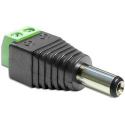 Image of IADAP TB2-DC2555M è un adattatore CC a morsettiera, ideale per particolari applicazioni industriali come ad esempio per il collegamento di fili singoli con la testa del cavo aperta.Specifiche tecniche· Connettori: - DC 2,5 (interno) x 5,5 (e