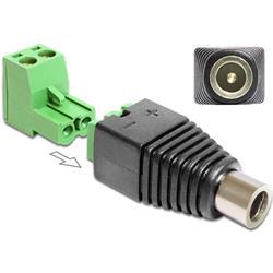 Image of IADAP TB22-DC2555F è un adattatore DC a morsettiera, ideale per particolari applicazioni industriali come ad esempio per il collegamento di fili singoli con la testa del cavo aperta.Può essere utilizzato anche nell area hobby, come per esemp