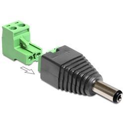 Image of IADAP TB22-DC2555M è un adattatore DC a morsettiera, ideale per particolari applicazioni industriali come ad esempio per il collegamento di fili singoli con la testa del cavo aperta.Può essere utilizzato anche nell area hobby, come per esemp