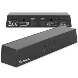 Image of Il trasmettitore e ricevitore RTX4 offre la possibilità di trasmettere l audio da dispositivi come una TV o un sistema musicale cablato a ricevitori Bluetooth come cuffie o altoparlanti [...]
