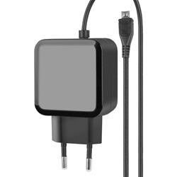 Image of Connessioni· Ingresso: spina 10A· Uscita: Micro USB maschioCaratteristiche generali· Caricamento veloce e sicuro· Design compatto· Adatto per tutti i dispositivi con connessione Micro USB· Lunghezza cavo: 1,2 m&mi