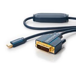 Image of · Cavo di altissima qualità Mini DisplayPort maschio a DVI-D 24+1 maschio· Conduttore in rame e doppia schermatura per una chiara qualità del segnale· Converte da sorgente Mini DisplayPort a monitor, proiettore o altro d