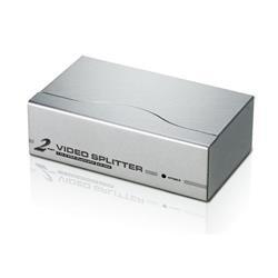 Image of Il VS92A è uno splitter video che non solo duplica il segnale video da un monitor VGA, XGA, SVGA, UXGA o Multisync a due uscite, ma lo amplifica anche su una distanza massima di 65 metri. Grazie al collegamento a cascata di 8 schermi e alla larghez