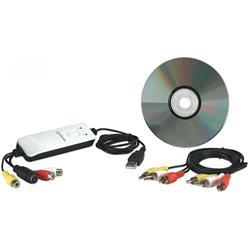 Image of · Cattura audio e video con semplicità da videocamere, VCR, TV o altre sorgenti A/V e li trasferisce al computer· Edita, converte e condivide i contenuti tramite e-mail, sul Web o su CD/DVD· Grazie ad un unico pulsante si pu&og