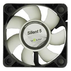 Image of ICPU-GE-SIL5 fornisce un ulteriore flusso d aria senza aumentare i livelli di rumore ed ad un prezzo accessibile. Ogni ventola è stata bilanciata singolarmente utilizzando le più moderne tecnologie per garantire un funzionamento costante. Ca