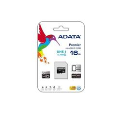 Image of SDHC ADATA MICRO PREMIER 16GB (2in1) UHS-I CL10 AUSDH16GUICL10-RA1