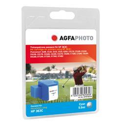 Image of ORIGINAL Agfa Photo Cartuccia d'inchiostro ciano APHP363CD Agfa Photo ~540 Seiten 6ml Agfa Photo 363 (C8771EE)