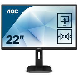Image of AOC - 21 5 LED 16.9 1920X1080 60HZ 100X100 TN
