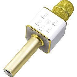 Image of · Microfono per Karaoke 2-in-1 con due altoparlanti da 3W integrati· Streaming musicale (MP3/WAV) tramite BT V4.1 o AUX–IN (telefono cellulare, tablet, PC)· Compatibile con APP per voce & Karaoke· Funzione equalizzatore (
