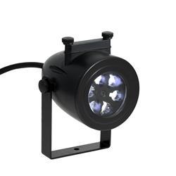 Image of Proiettore di effetti LED. Dona ad ogni stanza un aria quasi magica, facendo fluttuare colorati motivi 3D sulle pareti. E sufficiente posizionare il proiettore all interno o all esterno, scegliere il soggetto fra i 3 disponibili e godersi l esclusiva deco