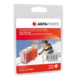 Image of ORIGINAL Agfa Photo Cartuccia d'inchiostro giallo APCCLI526YD Agfa Photo ~548 Seiten 10.5ml Agfa Photo CLI-526giallo (4543B001)