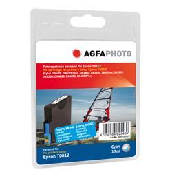 Image of ORIGINAL Agfa Photo Cartuccia d'inchiostro ciano APET061CD Agfa Photo ~420 Seiten 12ml Agfa Photo T0612 (C13T06124010)