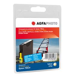 Image of ORIGINAL Agfa Photo Cartuccia d'inchiostro giallo APET061YD Agfa Photo ~420 Seiten 12ml Agfa Photo T0614 (C13T06144010)