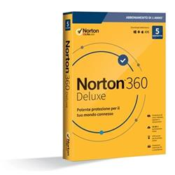 Image of NORTON 360 DELUXE 2020 5DEV 1Y 50GB