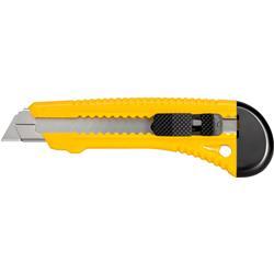 Image of · Cutter maneggevole e confortevole grazie all impugnatura ergonomica· Dotato di fermalama per la massima sicurezza· Lama da 18 mm· Dimensioni 155 x 30 mm· Lame di ricambio con codice: I-TG 106-RC