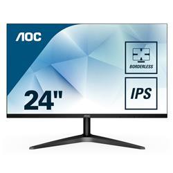 Image of AOC 23,8 16 9 BLACK FRAMELESS 1920X1080 60HZ DVI HDMI