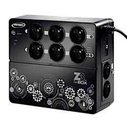Image of La gamma di UPS Z3 ZenBox EX è stata progettata per offrire al PC di casa e ai dispositivi multimediali personali un adeguata protezione da problemi di alimentazione e disturbi elettrici. Il suo design moderno e compatto si adatta perfettamente al