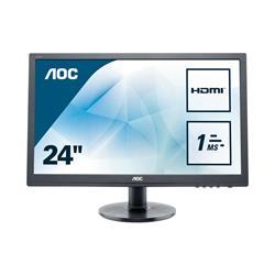 Image of AOC 24 , LED, 16 9, 1920X1080, 1MS, HDMI,DVI