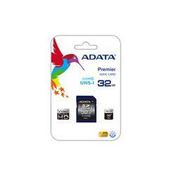 Image of ADATA TECHNO 32GB ADATA SDHC UHS-I CLASS10 (R100MB/S)