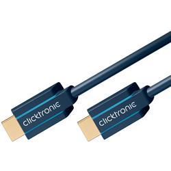 Image of Sviluppato per farti entrare nel futuro! Il cavo HDMI ad altissima velocità Clicktronic produce un immagine nitidissima e incredibilmente naturale. Vanta anche le velocità di trasmissione più elevate oggi sul mercato. I suoi materiali