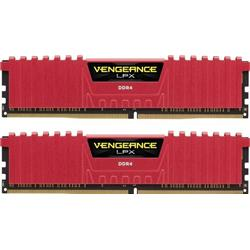 Image of CORSAIR DDR4 2400MHZ 16GB 2 X 288 DIMM RED