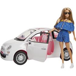 Image of MATTEL BARBIE FIAT 500