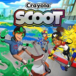 Image of NAMCO PS4 CRAYOLA SCOOT