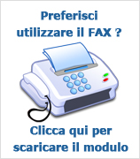 Ordine via FAX
